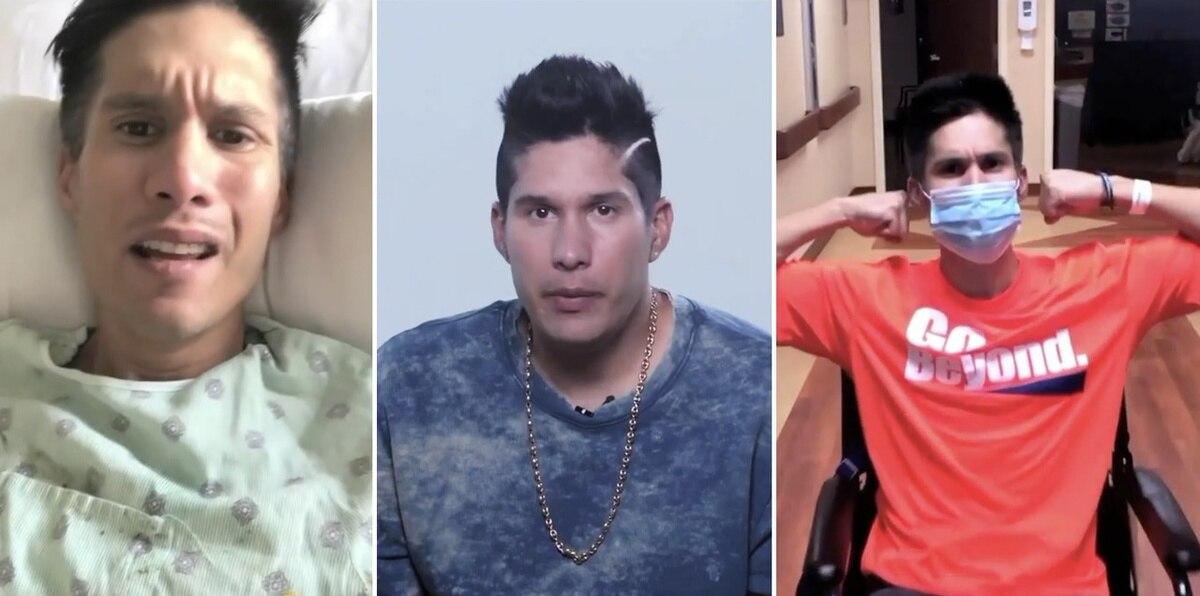 Chyno Miranda publica desgarrador vídeo sobre cómo quedó paralizado