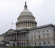 El Capitolio de Estados Unidos en Washington.