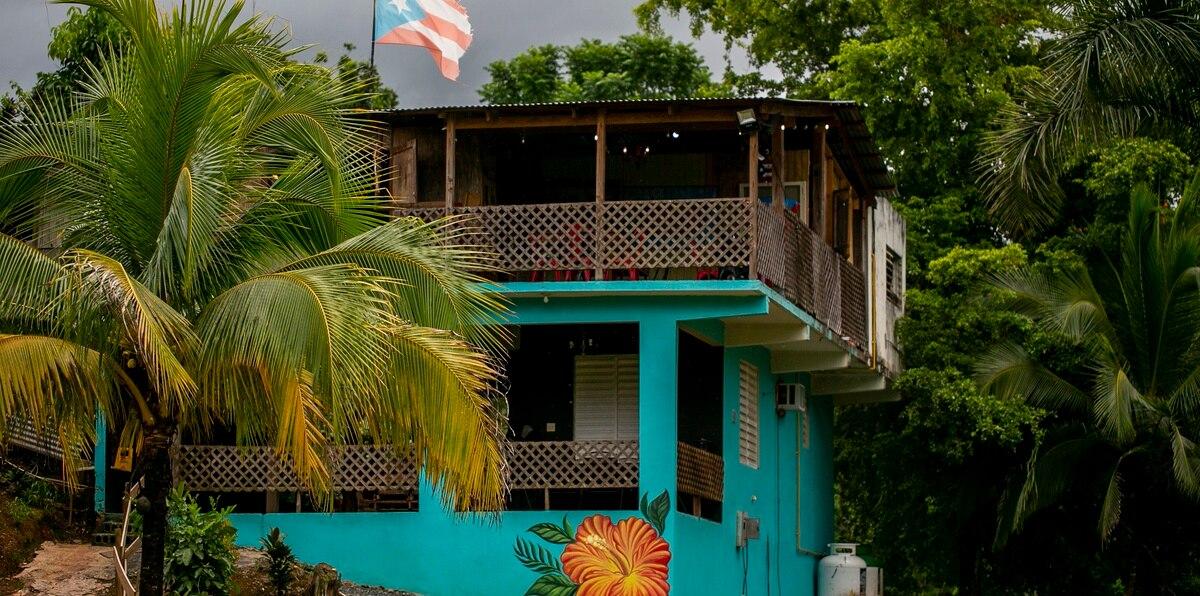 Maria Restaurant, inspirado en el Huracan María, está ubicado en el pueblo de Moca.    Xavier Garcia / Fotoperiodista