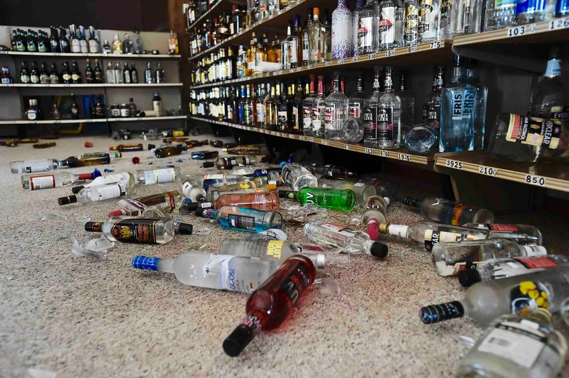 Un temblor de magnitud 4.9 sacudió Montana cinco minutos después del primero, que alcanzó una magnitud de 5.8. (Thom Bridge / Independent Record via AP)