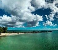 Playa La Fanduca, en Naguabo.