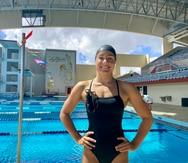La nadadora Miriam Sheehan busca sumar su nombre a la delegación a Tokio