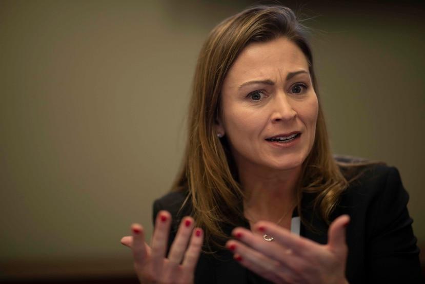 La exsecretaria de Educación, Julia Keleher. (GFR Media)