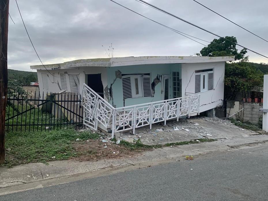 El epicentro del temblor se registró frente a la costa de Guánica. (Suministrada)