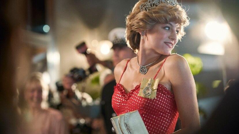 """La actriz Emma Corrin interpreta a la Princesa Diana en la cuarta temporada de la serie """"The Crown""""."""