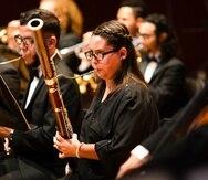 La Banda de Conciertos del Conservatorio es dirigida por el maestro Rafael Enrique Irizarry.