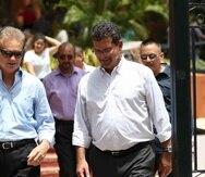 El alcalde de Bayamón, Ramón Luis Rivera, y Pedro Pierluisi.