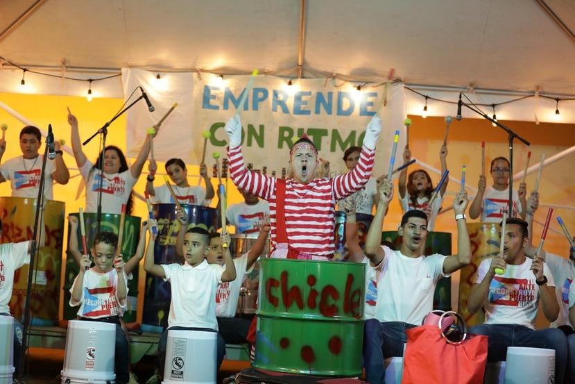 """""""EnTrenArte"""", programa de baile, música, artesanía y teatro que se llevó a cabo en Vega Baja. (Suministrada)"""