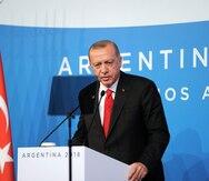 El presidente turco asegura que Khashoggi murió asfixiado con una bolsa de plástico