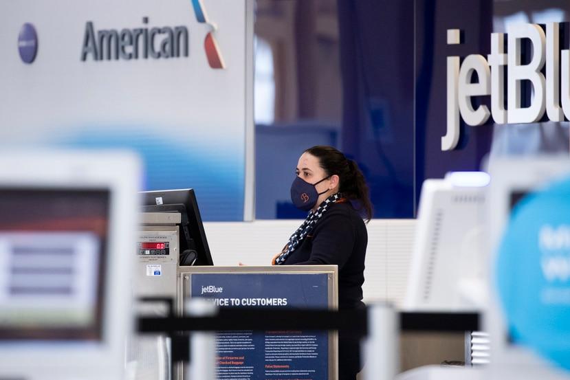 Con su alianza, American Airlines y JetBlue buscan acelerar la recuperación de cada empresa durante la pandemia de coronavirus COVID-19.