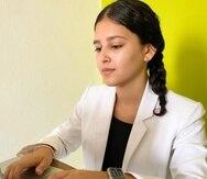 La estudiante Patricia Gómez, participante de Sagrado Co-op, adquirió su experiencia profesional en la empresa INprende.