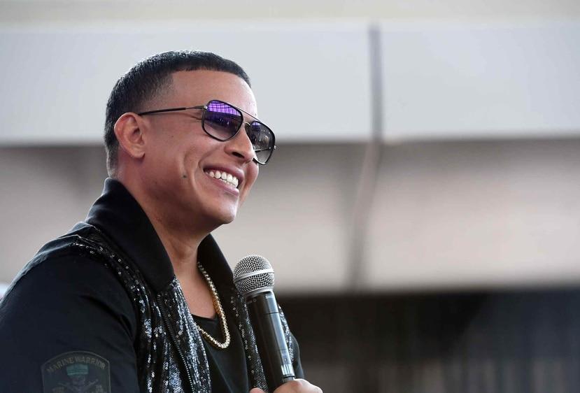 El reguetonero boricua Daddy Yankee. (GFR Media)