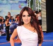 """En la actualidad, la mexicana se encuentra enfocada en su faceta como cantante con el lanzamiento de su nuevo tema musical """"Nunca""""."""