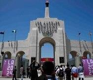 """El alcalde de Los Ángeles, Eric Garcetti, aseguró que el Mapa 2.0 busca que """"todos nosotros podamos invertir en políticas inteligentes y en energía verde que fortalecerá el bienestar de nuestras familias"""". (AP / Jae C. Hong)"""