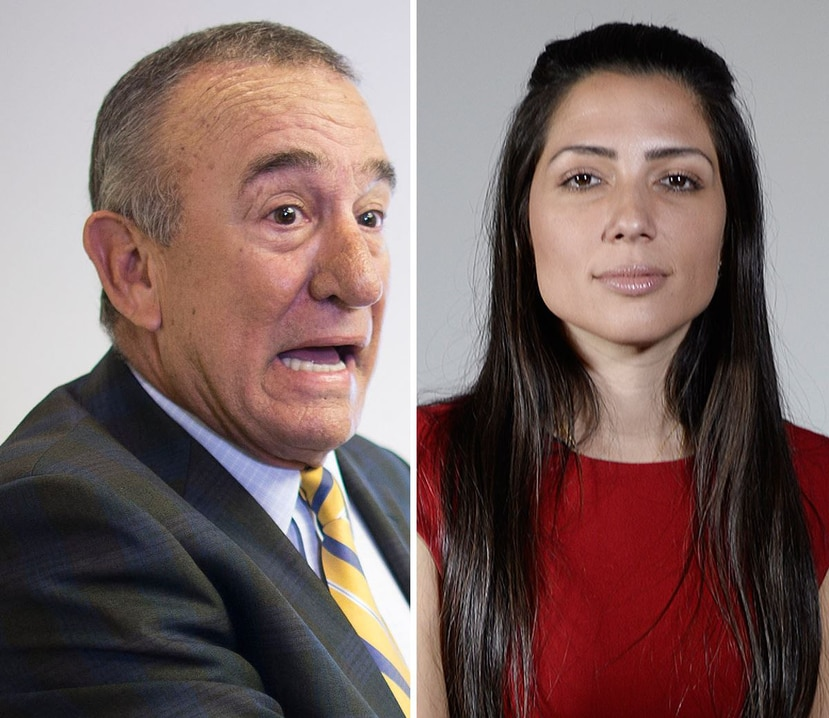 Los candidatos independientes Manuel Cidre y Alexandra Lúgaro. (GFR Media)