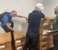 Durante el operativo participaron inspectores de las tres divisiones de la Secretaría Auxiliar de Integridad Agrocomercial (SAIA): café, mercadeo y agrológico.