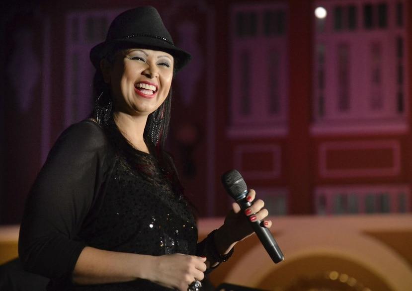 Victoria Sanabria canta hoy en el Paseo Carbe. (Archivo)