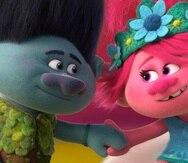 La secuela animada cuenta con las voces de Justin Timberlake y Anna Kendrick. (AP)