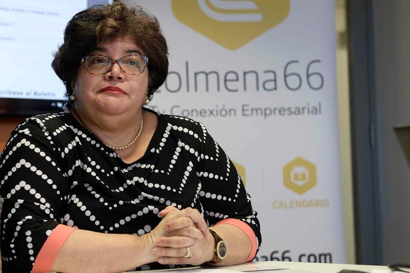 Lucy Crespo, principal oficial ejecutiva del Fideicomiso para Ciencia, Tecnología e Investigación (FCTI) de Puerto Rico. (Archivo/GFR)