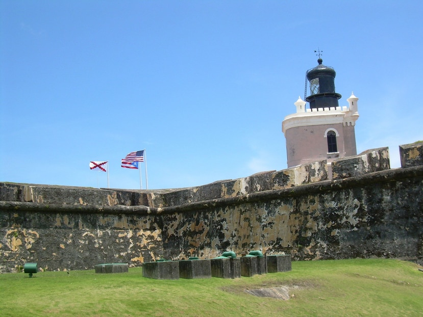 Los cuatro lugares que recibieron a 1,456,000 personas fueron el Castillo San Felipe del Morro (en la foto), el Castillo San Cristóbal, el Fuerte San Juan de La Cruz y la Puerta de San Juan. (Archivo / EFE)