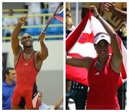 Jaime Espinal y Mónica Puig dieron el primer paso hacia el podio olímpico en Mayagüez 2010