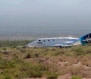 Virgin Galactic ha dicho que los vientos de gran altitud provocaron el cambio en la trayectoria de vuelo y ha insistido en que los dos pilotos respondieron adecuadamente.