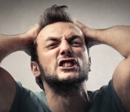 La pérdida del autocontrol lleva a la persona a pensar que su enojo es justificado y que la única forma de resolver el problema es a su forma o de ninguna otra manera. (Shutterstock)