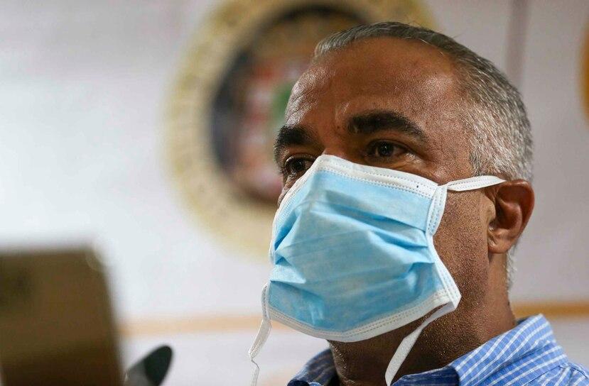 El secretario de Salud, Lorenzo González Feliciano.