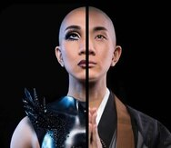 El reconocido maquillista Kodo Nishimura lleva su mensaje de igualdad a través de budismo y del maquillaje. (Seth Miranda)