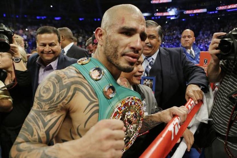 Miguel Cotto espera tener su próxima pelea concretada para la semana que viene. (Foto/AP)