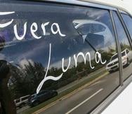5 de Junio del 2021 Caravana Todo Puerto Rico contra Luma   que salio desde el area de isla  verde   hacia condado  culminando  en  el puente  los hermanos david.villafane@gfrmedia.com