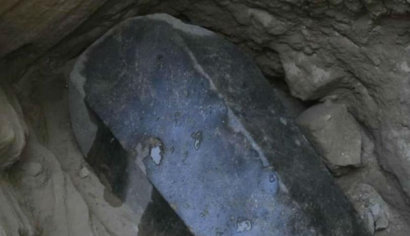 Adentro del sarcófago se encontraron tres cuerpos y no el de Alejandro Magno, como se había manejado en un principio (Ministerio de Antigüedades de Egipto).