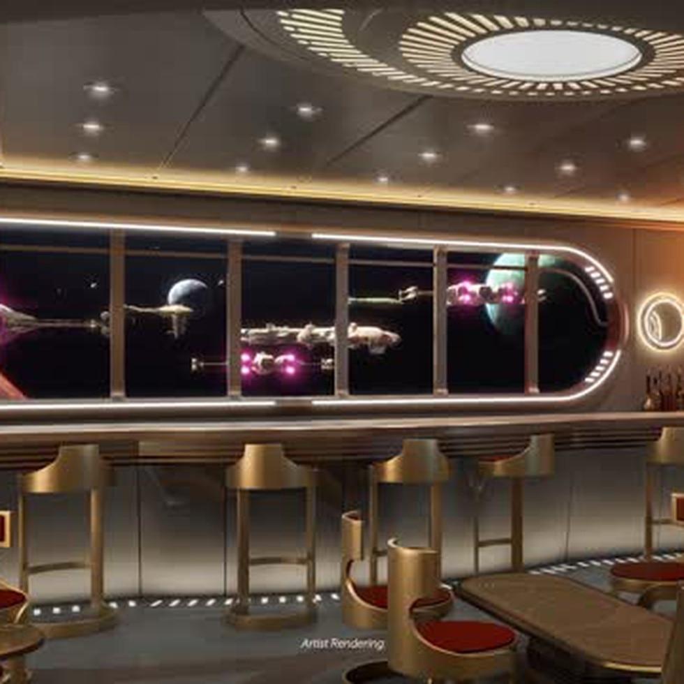 Así se diseño el crucero Disney Wish