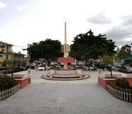 La plaza pública de Las Marías. (GFR Media)