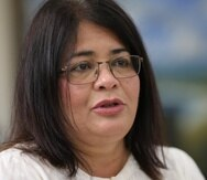 La presidenta interina de la UPR, Mayra Olavarría.