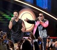 Luis Fonsi y Daddy Yankee fueron parte de los artistas que se presentaron en los Premios Billboard de la Música Latina que se realizaron en el 2017 en Miami.