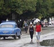 Las provincias de Cienfuegos, Sancti Spiritus y Ciego de Ávila han reportado fuertes lluvias. (EFE)