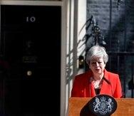 Theresa May. (AP)