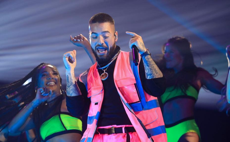 Esta es la segunda vez que el cantante colombiano, de 25 años, se presenta en el Choliseo.