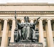 La biblioteca de la Universidad de Columbia.