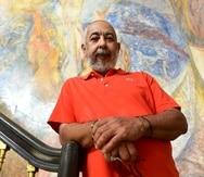 2016/03/07 SAN JUAN PUERTO RICO. EL ESCRITOR LEONARDO PADURO PREMIO PRINCIPE DE ASTURIAS EN LA UPR LUIS.ALCALADELOLMO@GFRMEDIA.COM