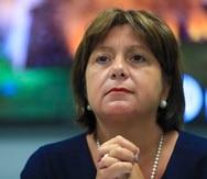 Natalie Jaresko, directora ejecutiva de la Junta de Supervisión Fiscal. (GFR Media)