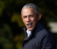 """Este verano, durante la convención demócrata virtual, Barack Obama ofreció una enorme queja contra el presidente, al advertir que si Trump se reelige """"derrumbará nuestra democracia""""."""