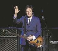El ex Beatle Paul McCartney es uno de los 156 artistas que firmó una misiva para solicitar que se reformen la ley que dicta cómo se pagan a los artistas cuando se escuchan sus canciones por servicios de ''streaming''. (Archivo / AP)