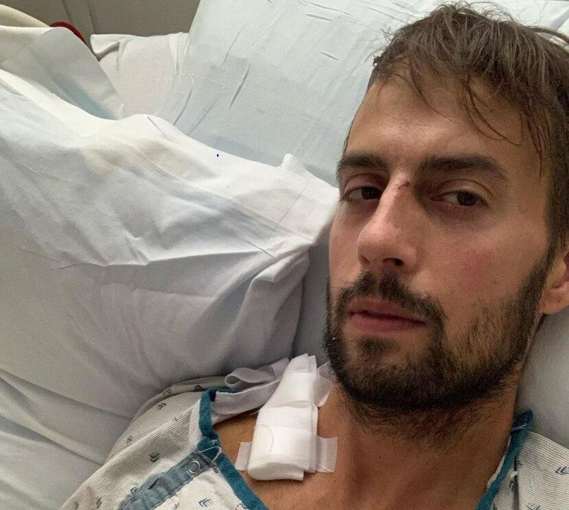 Ryan Fischer recibió un disparo mientras paseaba a tres perros propiedad de la cantante Lady Gaga.