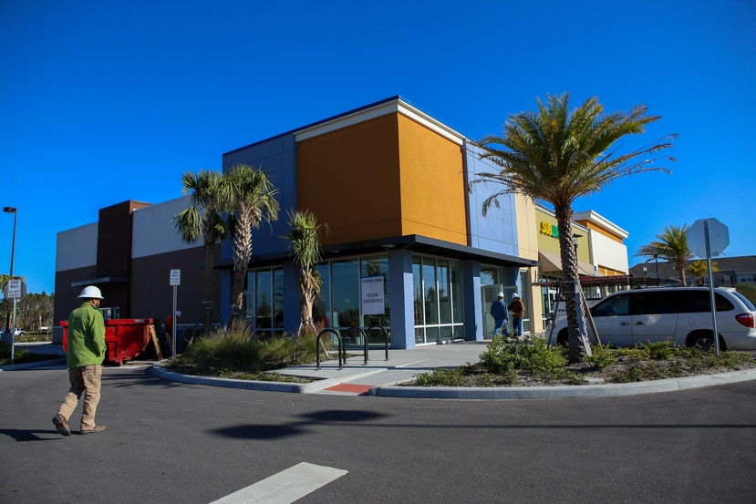 Fachada del establecimiento, ubicado en la el centro comercial Lee Vista Promenade, que aún se encuentra en construcción. (Carla D. Martínez / Especial GFR Media)