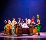 """Un total de 64 artistas internacionales componen el elenco de """"Drawn to Life"""" del Cirque du Soleil."""