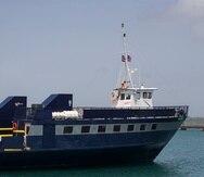 El ferry Isleño.