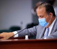 Juan Oscar Morales, presidente de la Comisión de Salud, no descartó ir a los tribunales para exigir la comparecencia del presidente de 313 LLC.