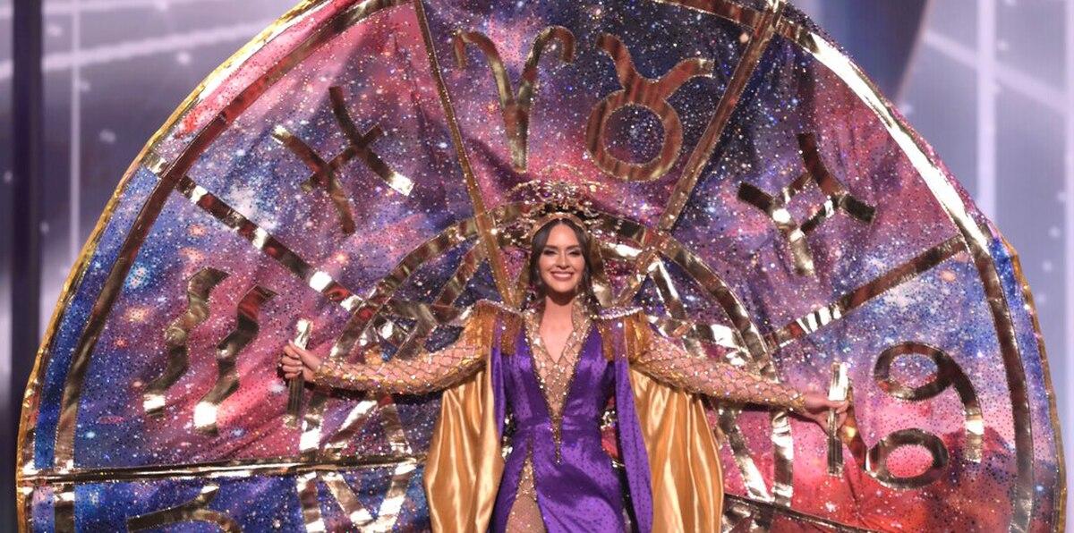 """Estefanía Soto comparte """"mucho mucho amor"""" durante la competencia de traje típico de Miss Universe"""